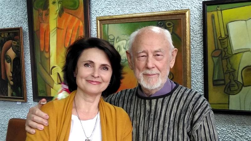 с художником Глебом М. Вяткиным
