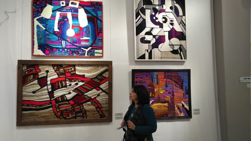 выставка саратовских художников  Акростих