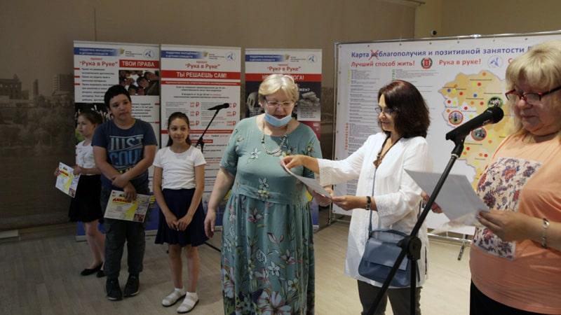 Награждения участников конкурса Детство без границ