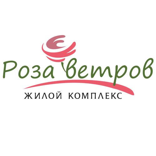"""Фирменный знак жилого комплекса """"Роза ветров"""""""