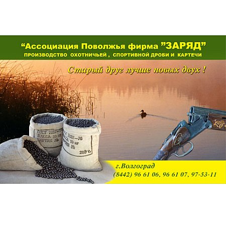 """Рекламный плакат """"Заряд"""""""