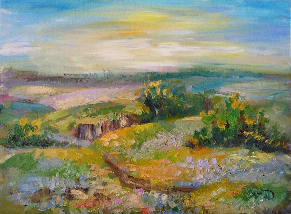 Картина Запах полыни