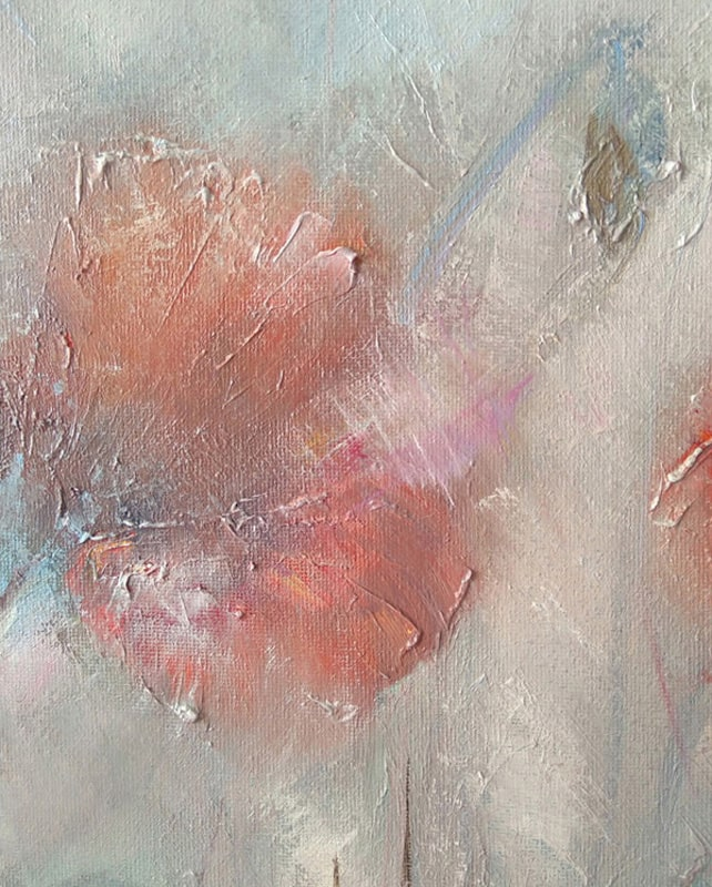 """Фрагмент картины """"Маки в тумане"""""""
