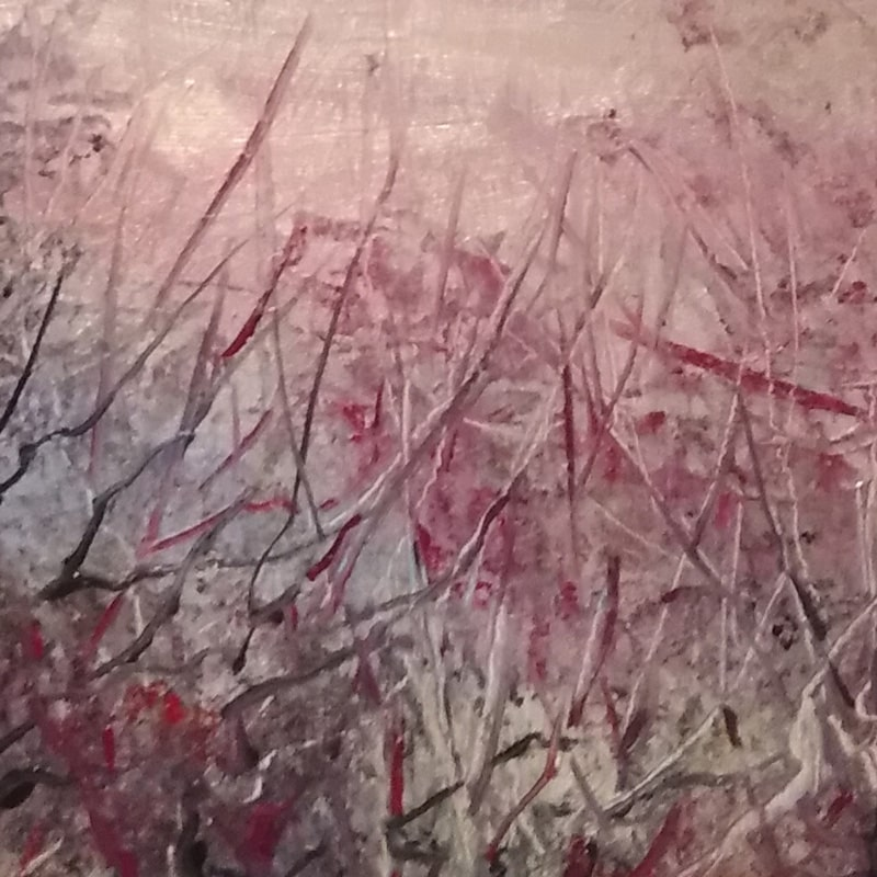 """Фрагмент картины """"Розовое утро"""""""